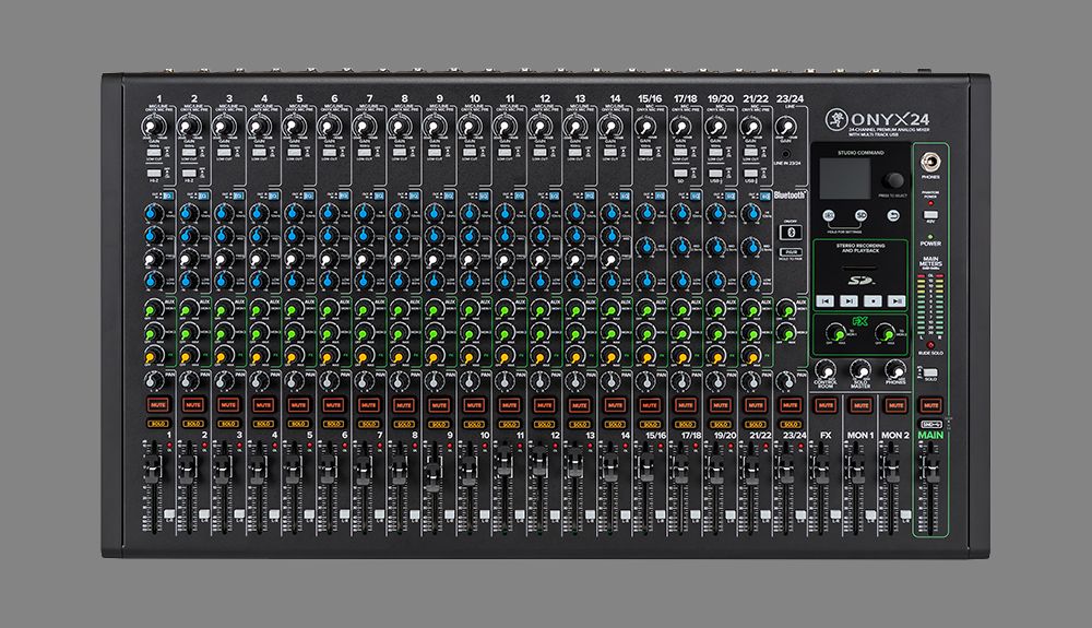 Mackie Onyx Audio Mixers