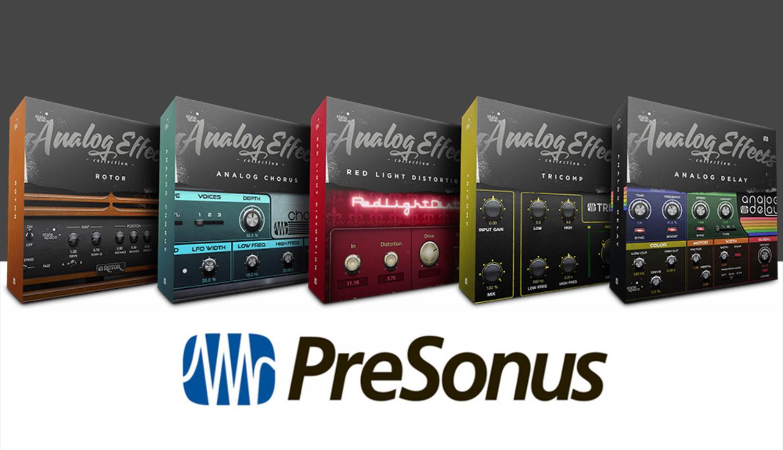 PreSonus Analog Effects Collection Plugins