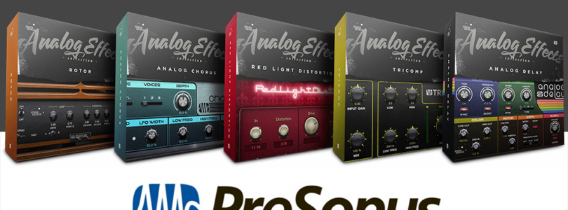 PreSonus Analog Effects Collection Plugins