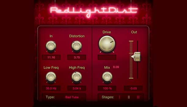 PreSonus RedLight Distortion