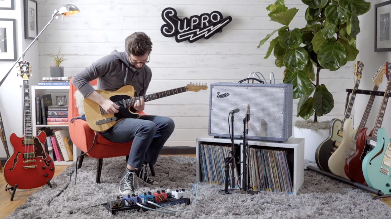 Supro Keeley Custom 12 Amplifier