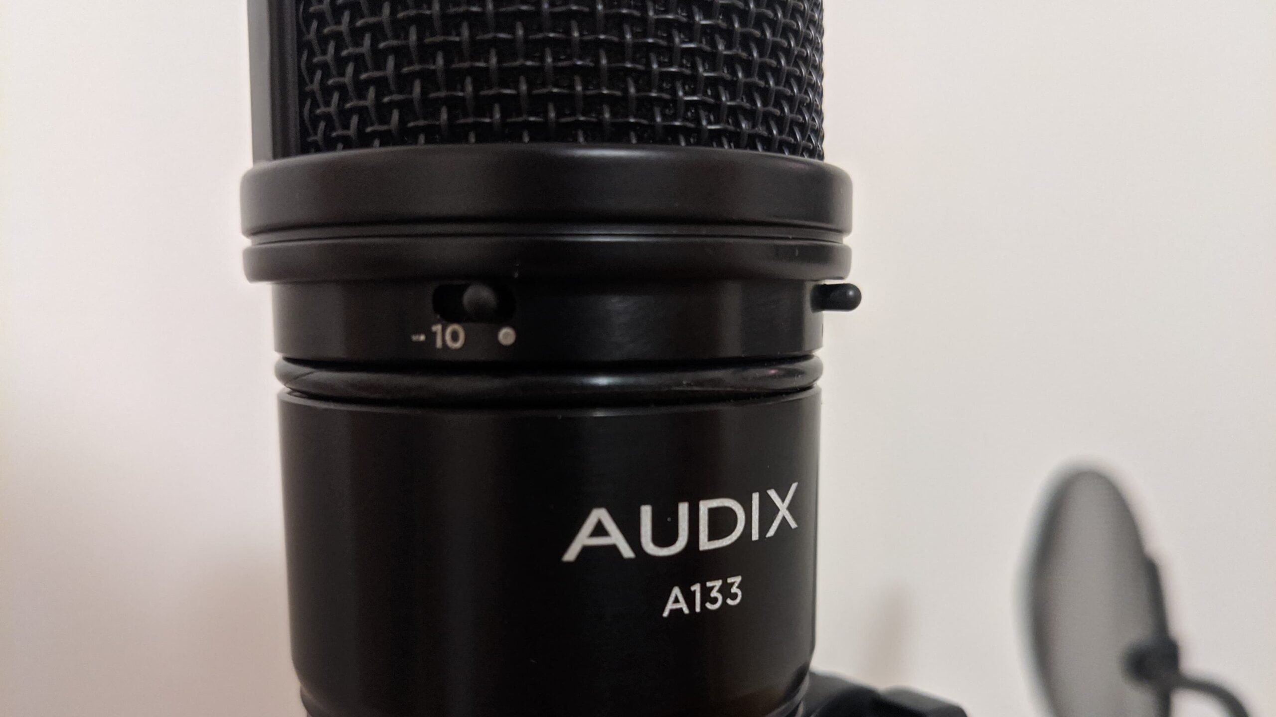Audix A133 Closeup