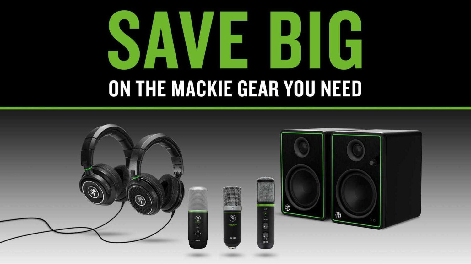Mackie Deals March 2021