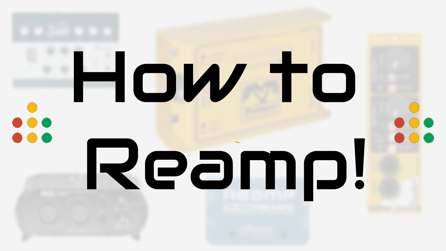 how to reamp