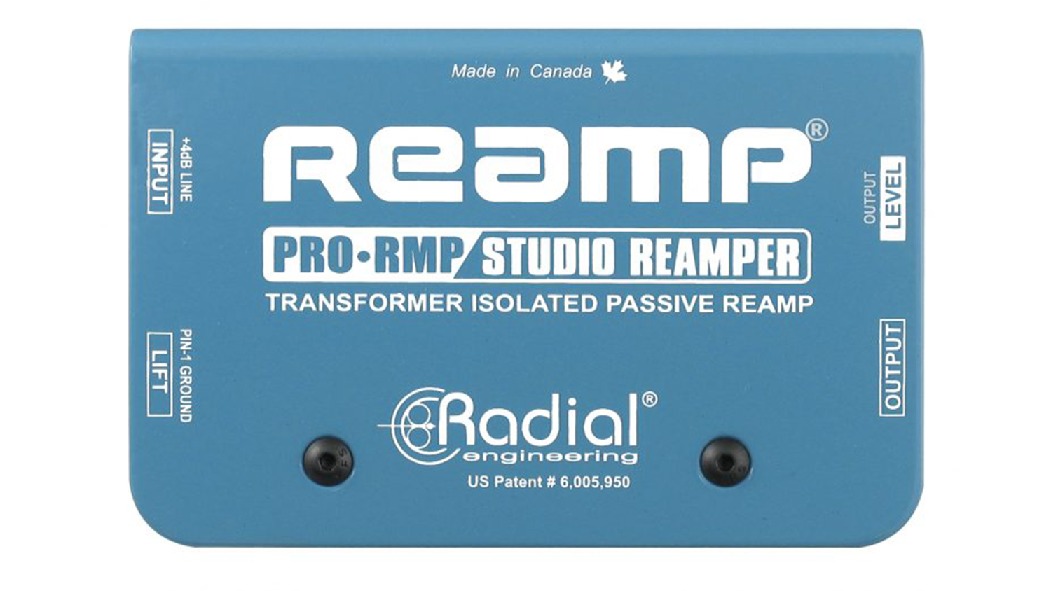radial engineering prormp reamp box