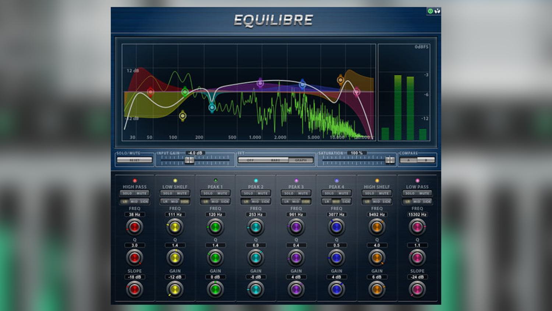 audio teknikk equilibre plugin