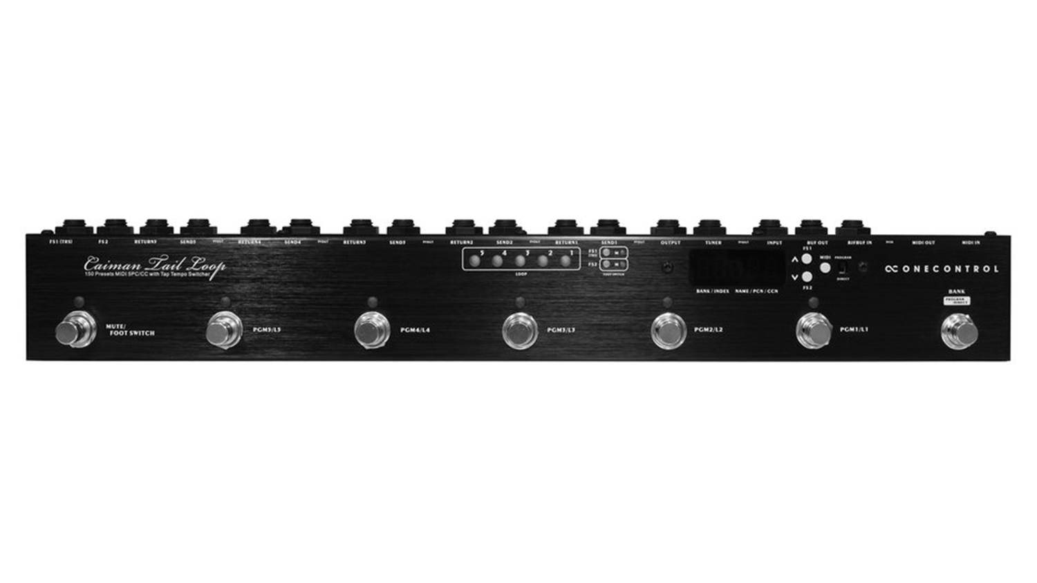 one control caiman tail loop switcher