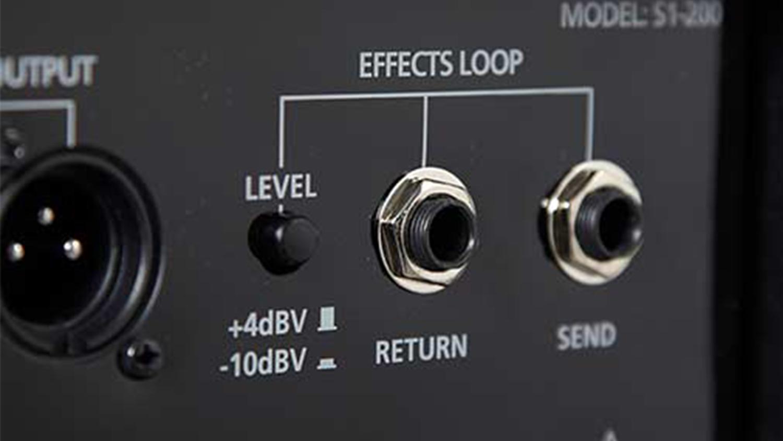 guitar amp effects loop