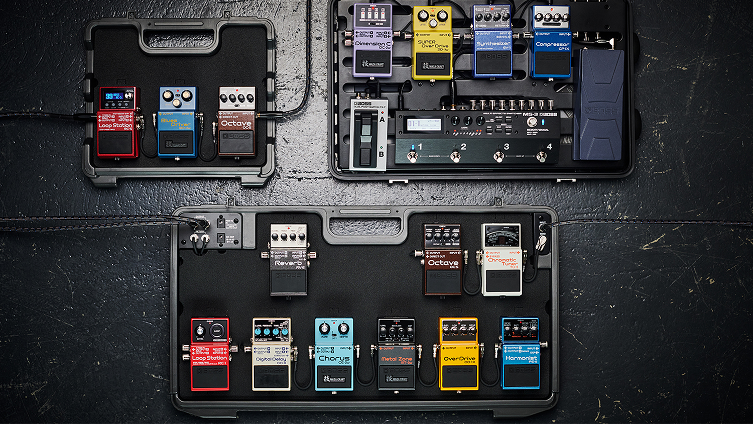 professional pedal chain order