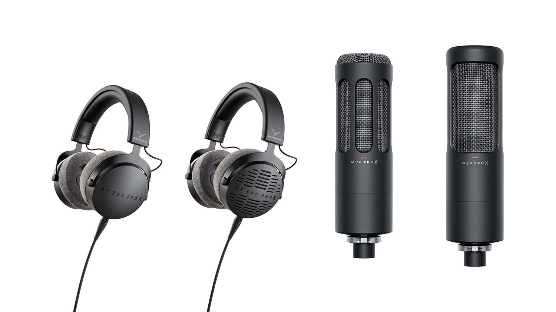 Beyerdynamic Pro X Series Headphones and Microphones